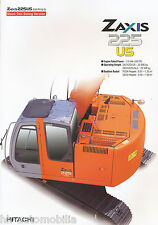 Prospekt GB Bagger Hitachi Zaxis 225 US 2003 brochure digger pelleteuse Japan
