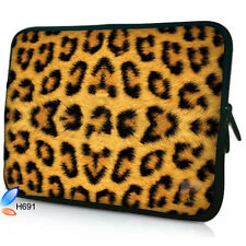 "13"" Leopard Print Laptop Sleeve Bag Case Cover For 13.3"" Macbook Pro/Air,HP Dell"