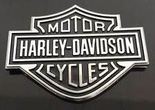 Harley Davidson Chrome Badge