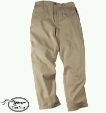 TrueFlies Manasota Chino Pant Mens Sea Oat Fly Fishing  40x32 NEW In Package