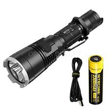 NiteCore MH27UV 1000 Lumen USB Flashlight w/ White, Red, Blue, UV LEDs & 18650