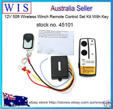 12V 50ft Wireless Remote Control Switch Kit For Truck/ATV Winch Warn Ramsey45101