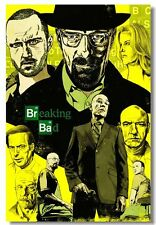 Beaking Bad Version Z Tv Show Poster 14X20 inches