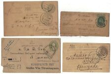 Burma usages of QV 1/2a wrapper & other uncommon PS