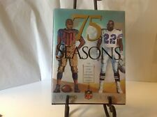75 SEASONS Complete Story of National Football League NFL Book 1920 - 1995 Sport