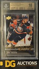2009-10 UpperDeck Young Guns Exclusives John Tavares Rookie BGS 10 Pristine Rare