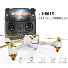 New Hubsan H501S X4 FPV Brushless RC Quadcopter w/1080P HD Camera & GPS RTF