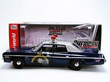 AUTO WORLD 1/18 DODGE Monaco - Police Nevada 1975 AMM1009