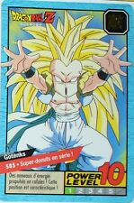 CARTE DRAGON BALL GT N-¦ 585 GOTENKS POWER LEVEL 10 VERSION FRANCAISE