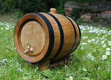Wooden 20 L Liters Oak Barrel Wine Spirit, whiskey, bourbon Free Fast P&P 24h