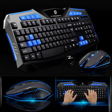Professional Computer Gaming USB Wireless Keyboard And Mouse Set 2000 DPI Mice