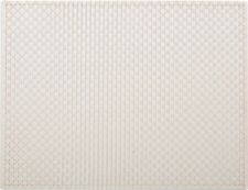 Domestico quotidiano crema tessuto Vinile PLACEMAT TABLE MAT per Creative Tops