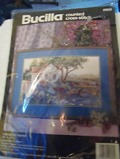 Bucilla Counted Cross Stitch 16 x 10 This Side of Heaven  # 40628 1992 SEALED