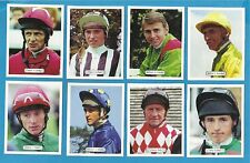 cigarette/trade cards - HORSE RACING - FAMOUS JOCKEYS - Full mint condition set