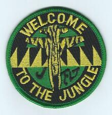 """80th FLYING TRAINING WING J FLIGHT """"WELCOME TO THE JUNGLE"""" patch"""