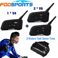 Bluetooth AURICOLARE INTERPHONE CALCIO ARBITRO Sistema di Comunicazione full duplex
