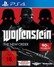Wolfenstein The New Order Gebrauchtes 1xPS4-Spiel