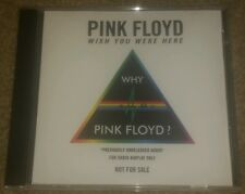Pink Floyd Wish You Were Here Why? Unreleased Audio CD 2011 Radio promo RARE