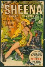 Sheena Queen of the Jungle #18 (Fiction House comic 1952-52) Used in POP