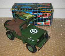 Friction Drive US Army Blech-Jeep 1:24 in OVP Neu /L493