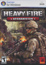 HEAVY FIRE AFGHANISTAN Urban Combat Shooter PC Game for Windows XP, Vista, 7 NEW