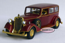 Free shipping 1:32 Cadillac The Chinese Emperor's Car Toy Diecast Model Red B320
