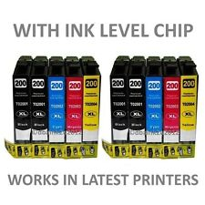 10 Pk NON OEM T200XL Ink CARTRIDGE FOR Epson Expression XP 310 PRINTER
