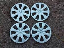 "Set of 4 New 2009 2010 2011 2012 2013 Corolla Hubcaps 15"" Wheel Covers 61147"
