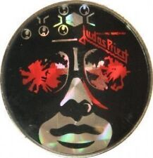JUDAS PRIEST 'KILLING MACHINE'  CRYSTAL BADGE ORIGINAL