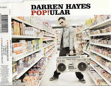DARREN HAYES Pop!ular 4 Tracks OZ CD Single