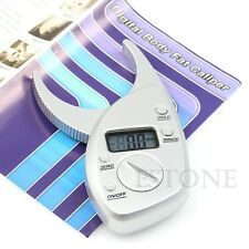 Digital High Quality Display LCD Body Fat Caliper Skin Fold Analyzer