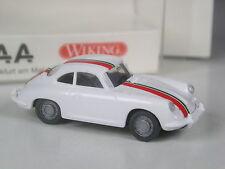 TOP: Wiking Sondermodell Porsche 356 Coupé weiß mit Streifen IAA 2003 in OVP