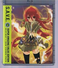 Shakugan no Shana Season III - S.A.V.E.  (BD/DVD, 2016, 4-Disc Set)