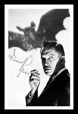 VINCENT PRICE AUTOGRAPHED SIGNED & FRAMED PP POSTER PHOTO