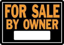 """(12) ea Hy-Ko Products # 845 10"""" x 14"""", Aluminum, FOR SALE BY OWNER Signs"""