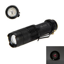 850nm 5W Zoomable LED Infrared IR Flashlight Torch Night Vision Fill Light lamp