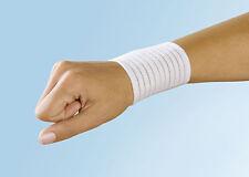 1 Handgelenkstütze weiß elastisch, Klettverschluß; Handgelenkbandage Handbandage