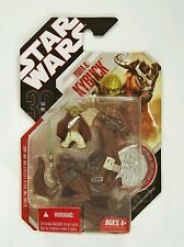 Hasbro Star Wars 30th Anniversary Yoda with Kybuck Action figure with Coin