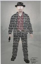 Scott W. Smith Signed Breaking Bad Heisenberg Walter White Quote Print
