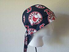 Boston Red Sox Welding Welders Hat Caps Doo Rag Skullcap Do Rag Bandana