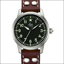 Laco 36mm Osaka Type-A Dial Automatic Pilot Watch with Sapphire Crystal #861798