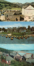 Cumbria ,Lake district x3 Windermere and Grange over sands  unposted 1960's/70'