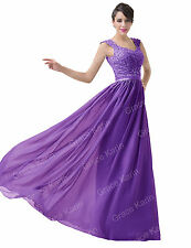 Sexy Long Formal Bridesmaid Prom Dress Wedding Party Cocktail Evening Gown New