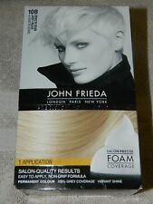 JOHN FRIEDA PRECISION FOAM COLOUR 10B  EXTRA LIGHT BEIGE BLONDE NEW