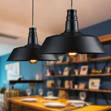 Retro Rural Industrial Loft Ceiling Lamp Chandelier Black Pendant Light Fixtures