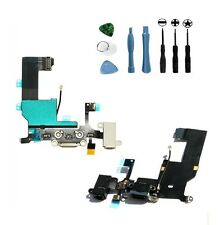 Headphone jack Dock Connector Charge Port Mic Data Sync Flex cable for iPhone 5