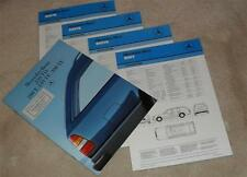 Mercedes T Series W124 Estate Brochure 1986 250TD 200T 230TE 300TE