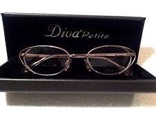 Cat Eye Designer Diva Petite Eyeglasses!  Glasses Frames