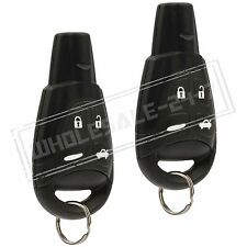 2 Replacement For 2003 2004 2005 2006 2007 2008 2009 Saab 9-3 93 Key Fob Remote