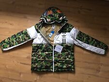 Adidas X Bape ID96 Sz M Down Jacket Jacke New A Bathing Ape No Supreme NMD Camo